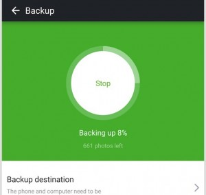 screenshot android backup 3