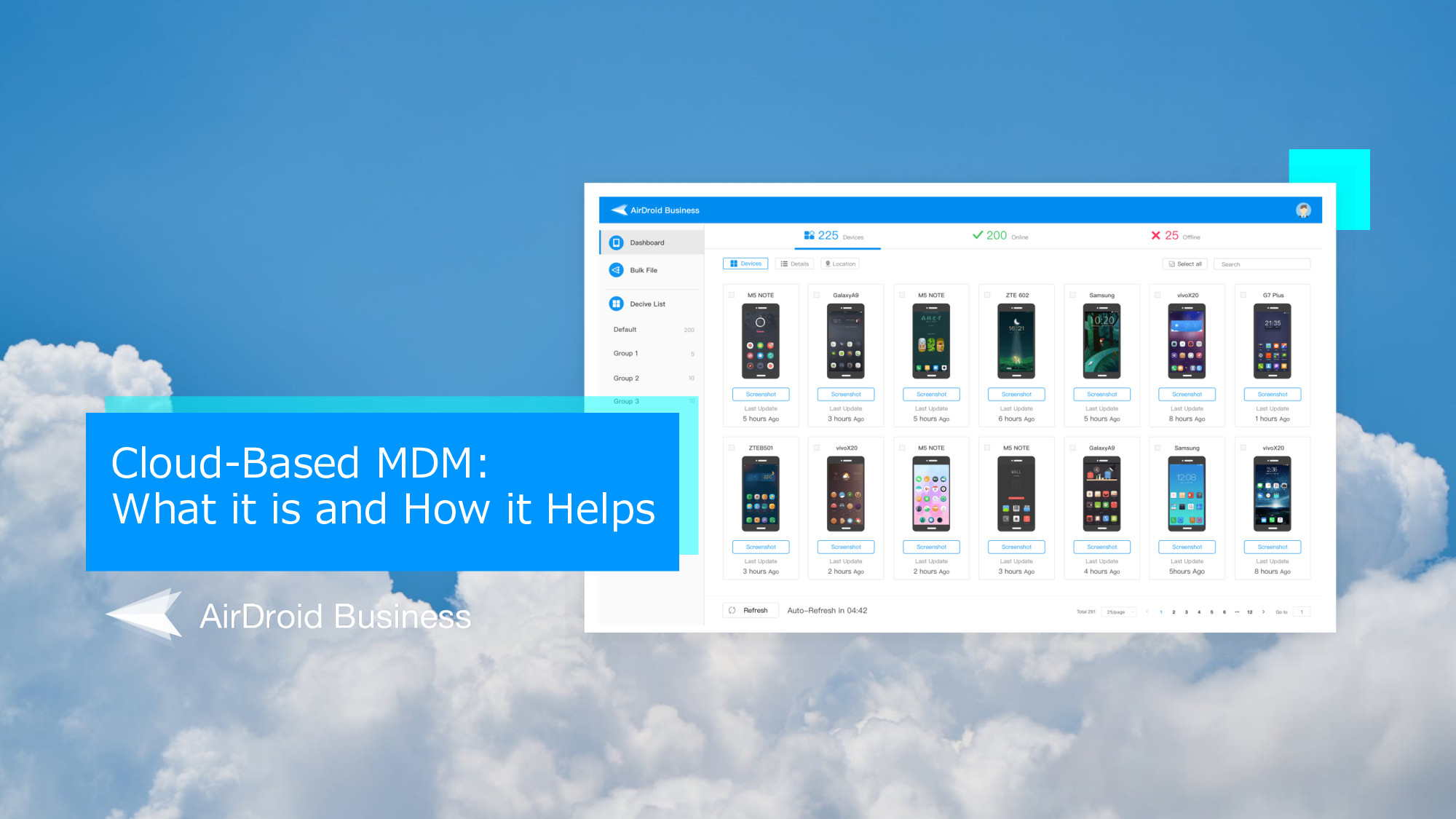 AirDroid Business Cloud-based MDM Solution