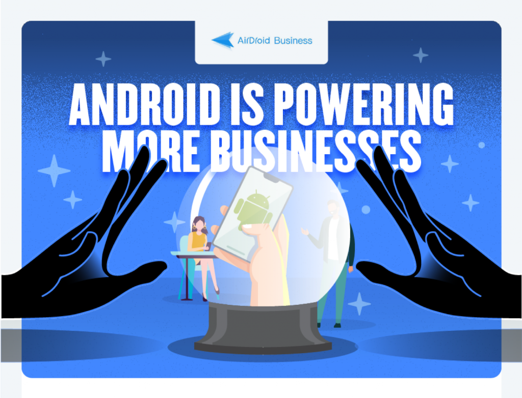 AirDroid Business mdm infographic