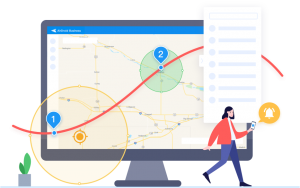 android device location tracking and geofencing management from airdroid business