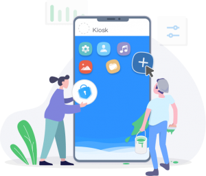 android kiosk mode lockdown software airdroid business