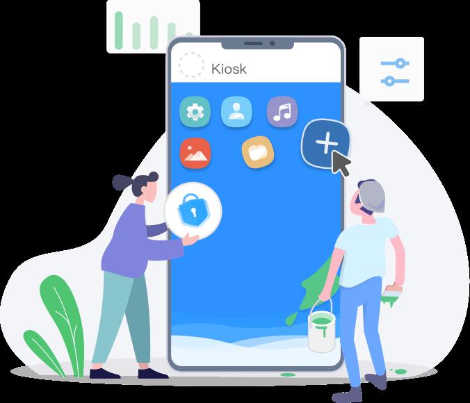 android kiosk lockdown mode