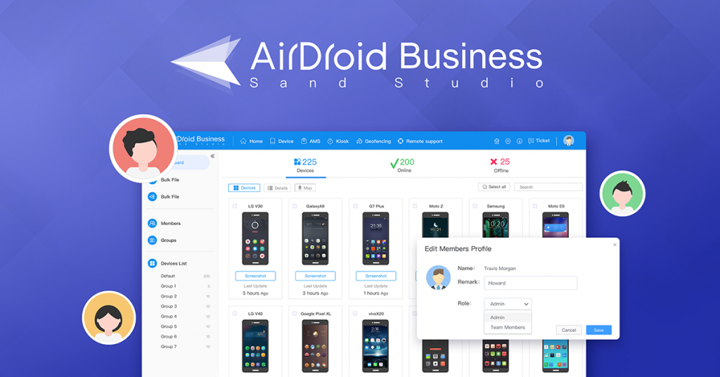 airdroid business android remote device management