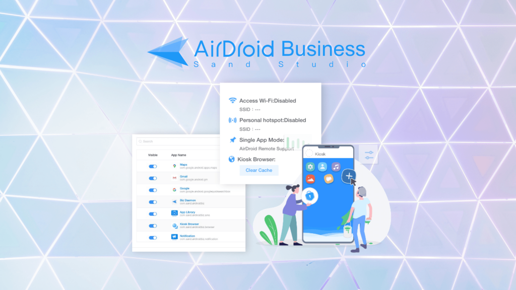 android kiosk mode guide airdroid business