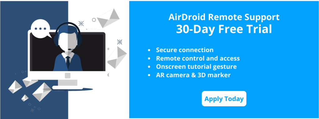 airdroid remote support free trial apply