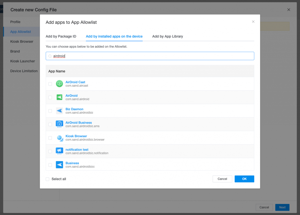 android kiosk mode lockdown apps