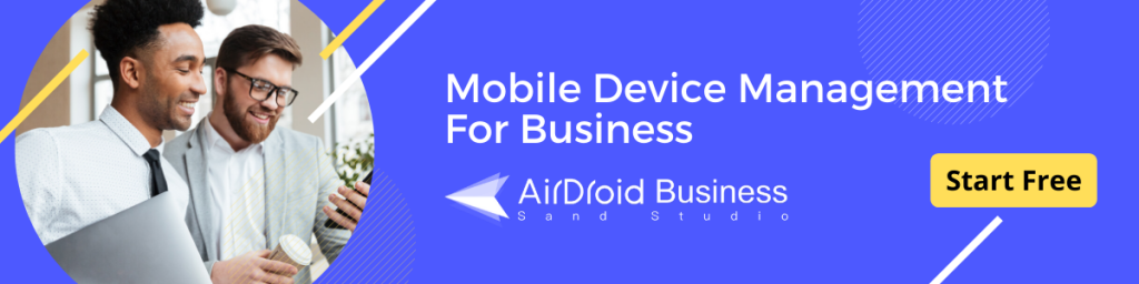 airdroid business android mdm solution free trial banner