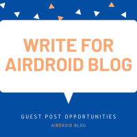 airdroid mdm blog guest post opportunities