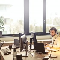 remote customer support agent