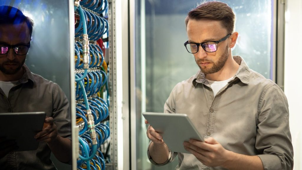 it manager troubleshooting machines