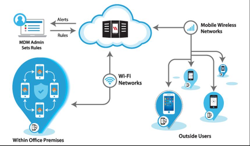 mdm network illustration