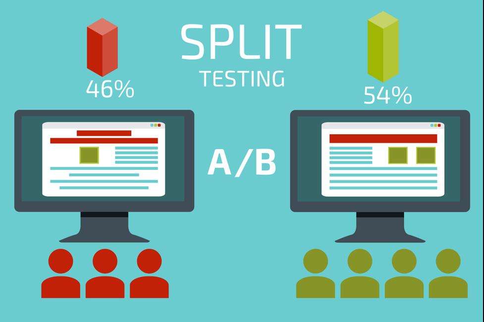 split test statistics