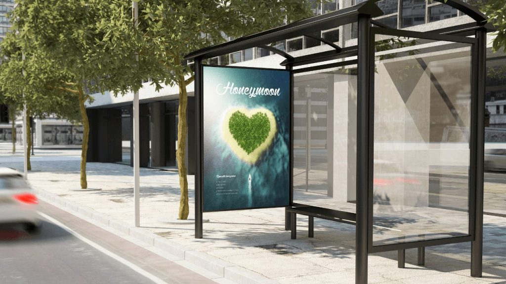 10 Exciting ways Digital Signage can Improve your Business bus stop sign display