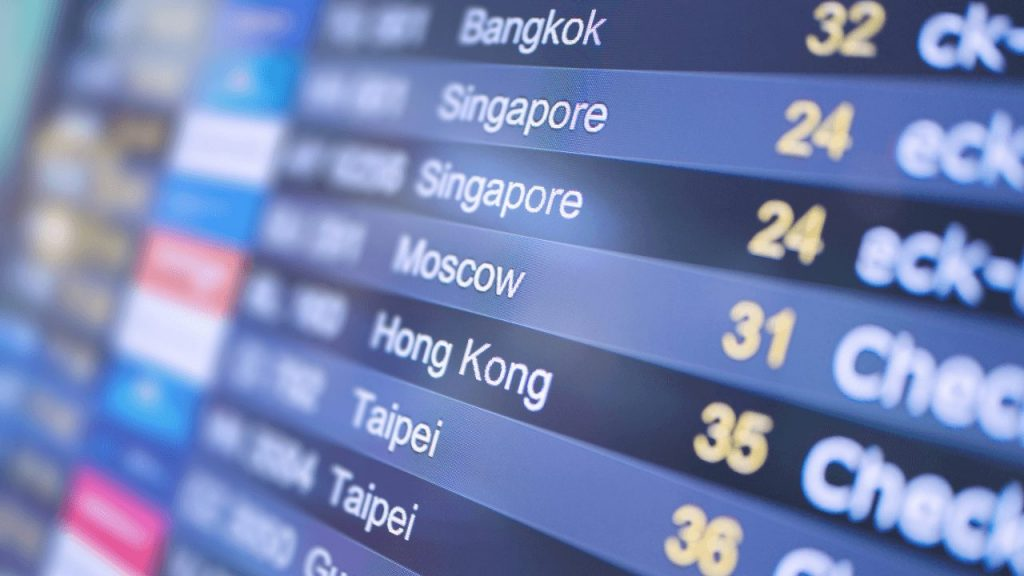 10 Exciting ways Digital Signage can Improve your Business airport display