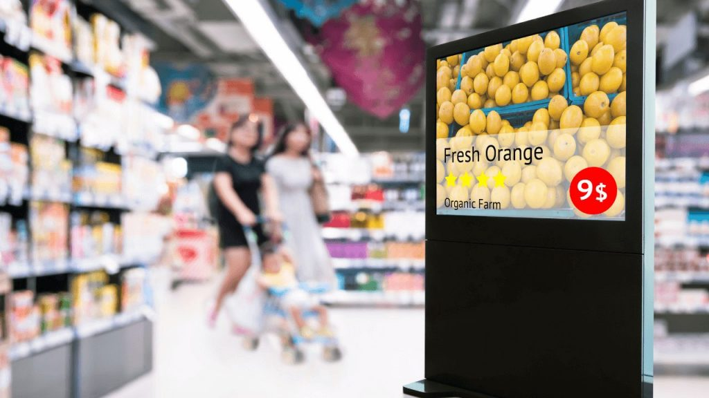 10 Exciting ways Digital Signage can Improve your Business retail display