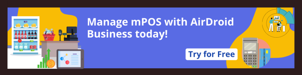 airdroid business mdm for mpos free trial banner