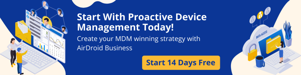 Proactive Device Management Trial Banner
