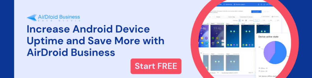 AirDroid Business MDM Solution Free Trial Banner 10