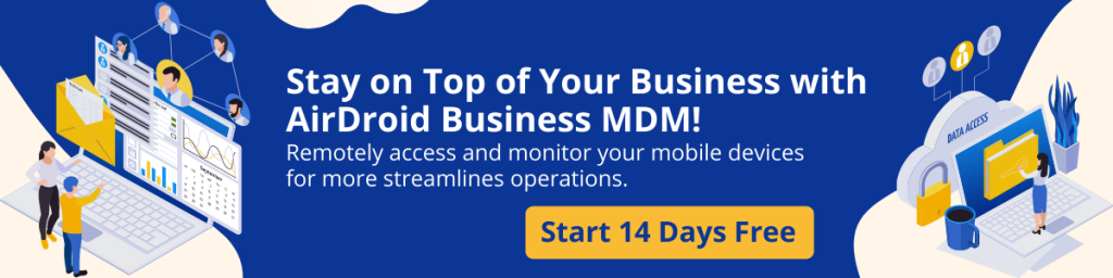 AirDroid Business MDM Free Trial Banner 21